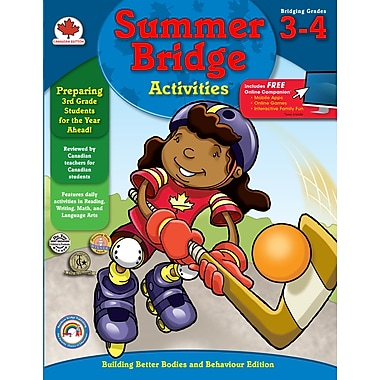 eBook: Summer Bridge Activities 104511-EB Summer Bridge Activities®, Grade 3 - 4