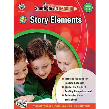 eBook: Frank Schaffer 104557-EB Story Elements, Grade 3 - 4
