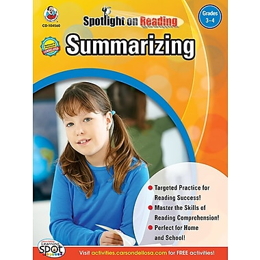 eBook: Frank Schaffer 104560-EB Summarizing, Grade 3 - 4