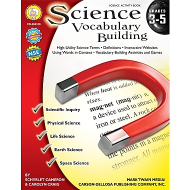 Livre numérique: Mark Twain « Science Vocabulary Building », 8 à 11 ans, 404109-EB
