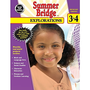 eBook: Summer Bridge Activities 704652-EB Summer Bridge Explorations, Grade 3 - 4