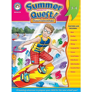 eBook: Summer Quest 904130-EB Summer Quest™, Grade 3 - 4