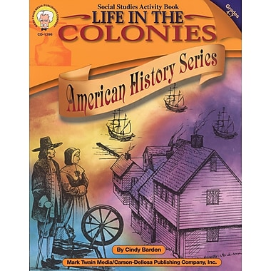 eBook: Mark Twain 1396-EB Life in the Colonies, Grade 4 - 7