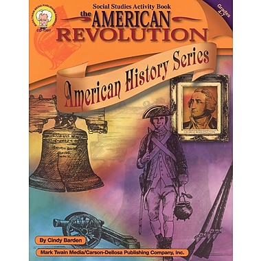 eBook: Mark Twain 1397-EB The American Revolution, Grade 4 - 7
