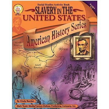 eBook: Mark Twain 1531-EB Slavery in the United States, Grade 4 - 7
