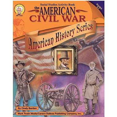 eBook: Mark Twain 1532-EB The American Civil War, Grade 4 - 7