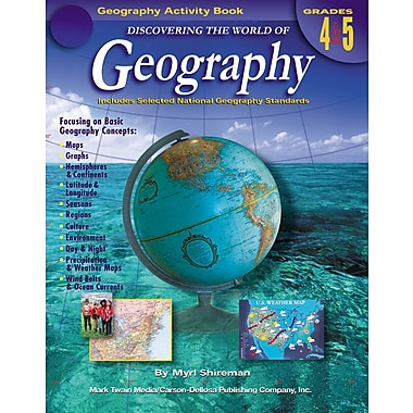 eBook: Mark Twain 1573-EB Discovering the World of Geography, Grade 4 - 5