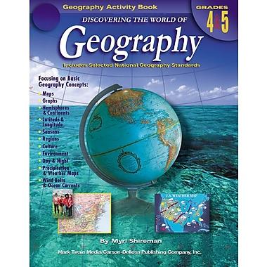 Livre numérique : Mark Twain 1573-EB Discovering the World of Geography, 4e - 5e année