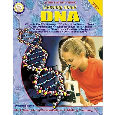 eBook: Mark Twain 1577-EB Learning About DNA, Grade 4 - 8