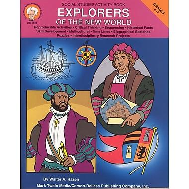 eBook: Mark Twain 1832-EB Explorers of the New World, Grade 4 - 7