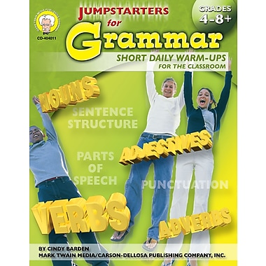 eBook: Mark Twain 404011-EB Jumpstarters for Grammar, Grade 4 - 8