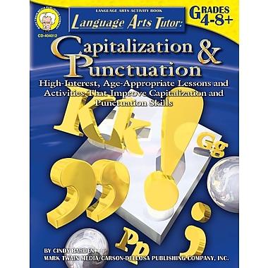 Livre numérique : Mark Twain 404012-EB Language Arts Tutor: Capitalization and Punctuation, 4e - 8e année