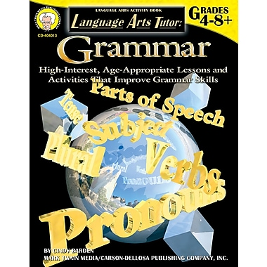 eBook: Mark Twain 404013-EB Language Arts Tutor: Grammar, Grade 4 - 8