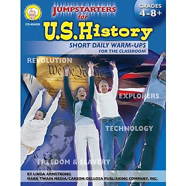 eBook: Mark Twain 404026-EB Jumpstarters for U.S. History, Grade 4 - 8