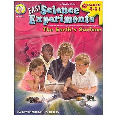 eBook: Mark Twain 404048-EB Easy Science Experiments, Grade 4 - 8