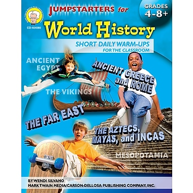 eBook: Mark Twain 404080-EB Jumpstarters for World History, Grade 4 - 8