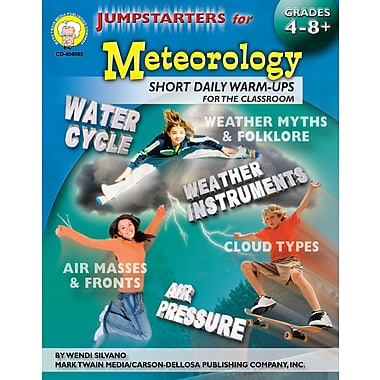 eBook: Mark Twain 404093-EB Jumpstarters for Meteorology, Grade 4 - 8