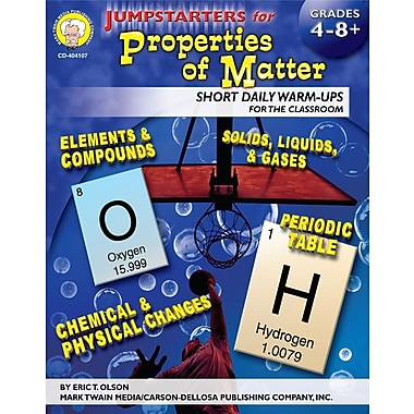 eBook: Mark Twain 404107-EB Jumpstarters for Properties of Matter, Grade 4 - 8