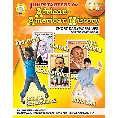 eBook: Mark Twain 404129-EB Jumpstarters for African-American History, Grade 4 - 8