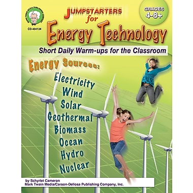 eBook: Mark Twain 404134-EB Jumpstarters for Energy Technology, Grade 4 - 8