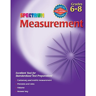 eBook: Spectrum 704072-EB Measurement, Grade 6 - 8