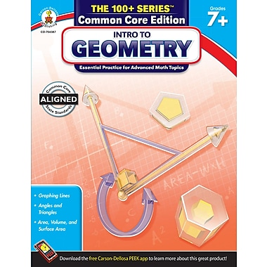 eBook: Carson-Dellosa 704387-EB Intro to Geometry, Grade 7 - 8