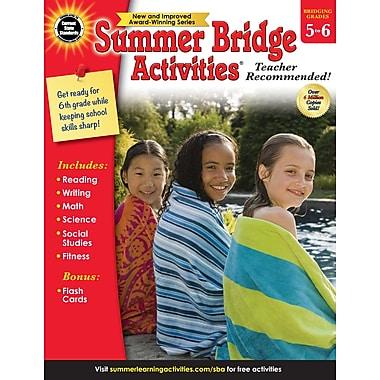eBook: Summer Bridge Activities 704701-EB Summer Bridge Activities®, Grade 5 - 6