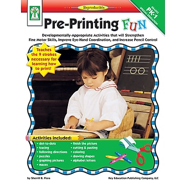 eBook: Key Education 804060-EB Pre-Printing FUN, Grade PK - 1