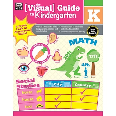 Carson-Dellosa 704924-EB Visual Guide to Kindergarten