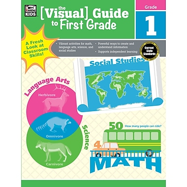 Carson-Dellosa 704925-EB Visual Guide to First Grade
