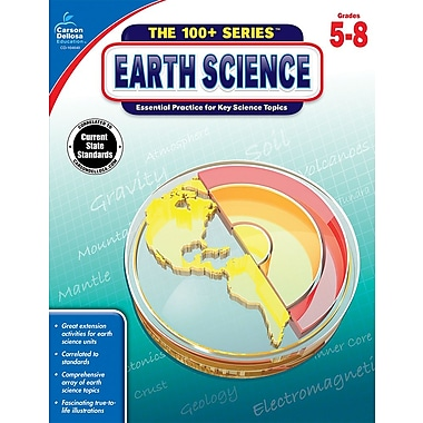 eBook: Carson-Dellosa 104640-EB Earth Science, Grade 5 - 8