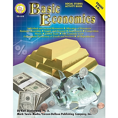eBook: Mark Twain 1318-EB Basic Economics, Grade 5 - 8