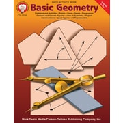 eBook: Mark Twain 1332-EB Basic Geometry, Grade 5 - 8