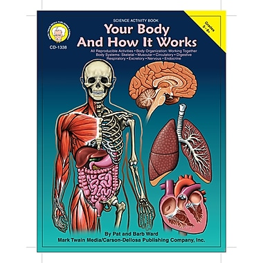 Livre numérique : Mark Twain 1338-EB Your Body and How it Works, 5e - 8e année