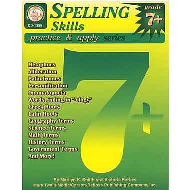 eBook: Mark Twain 1359-EB Spelling Skills, Grade 7 - 8