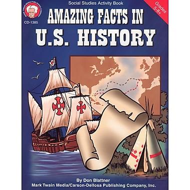 eBook: Mark Twain 1385-EB Amazing Facts in U.S. History, Grade 5 - 8
