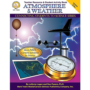 eBook: Mark Twain 1564-EB Atmosphere & Weather, Grade 5 - 8