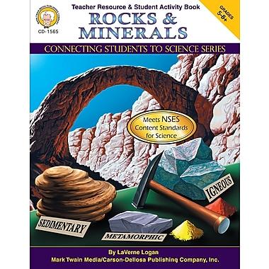 Livre numérique : Mark Twain 1565-EB Rocks & Minerals, 5e - 8e année