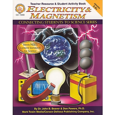 eBook: Mark Twain 1568-EB Electricity & Magnetism, Grade 5 - 8