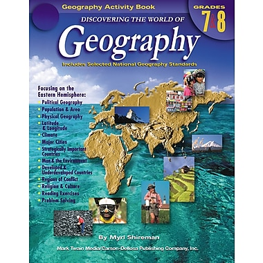 eBook: Mark Twain 1576-EB Discovering the World of Geography, Grade 7 - 8