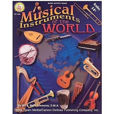 Livre numérique : Mark Twain 1596-EB Musical Instruments of the World, 5e - 8e année
