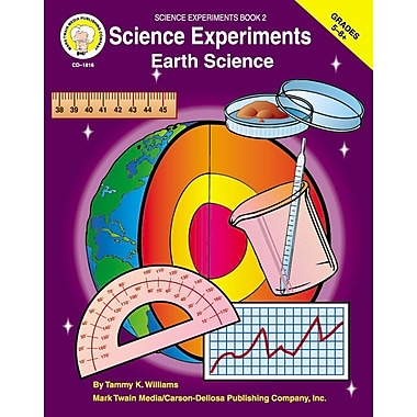 Livre numérique : Mark Twain 1816-EB Science Experiments, 5e - 8e année