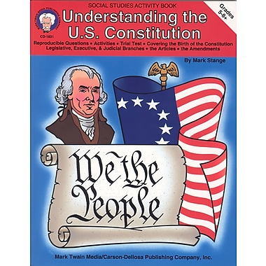 eBook: Mark Twain 1831-EB Understanding the U.S. Constitution, Grade 5 - 8