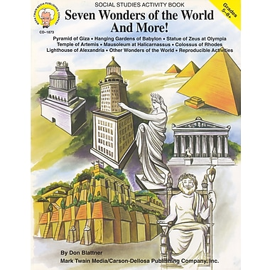 Livre numérique : Mark Twain 1873-EB Seven Wonders of the World and More! 5e - 8e année