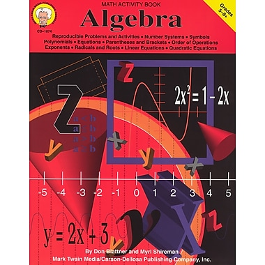 eBook: Mark Twain 1874-EB Algebra, Grade 5 - 8