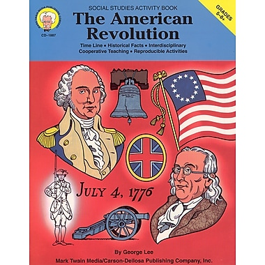 eBook: Mark Twain 1887-EB The American Revolution, Grade 5 - 8
