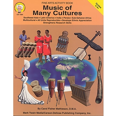 eBook: Mark Twain 1894-EB Music of Many Cultures, Grade 5 - 8