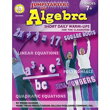 eBook: Mark Twain 404022-EB Jumpstarters for Algebra, Grade 7 - 8