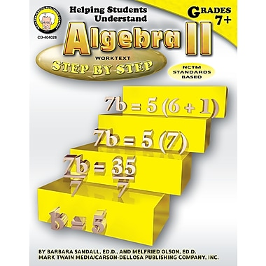 eBook: Mark Twain 404028-EB Helping Students Understand Algebra II, Grade 7 - 8