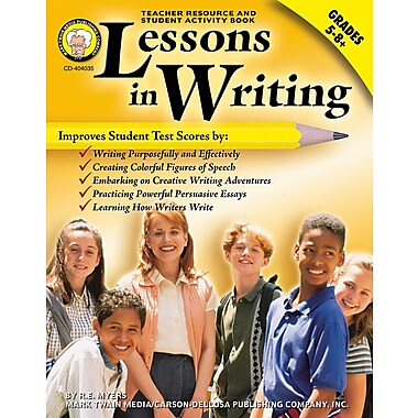 eBook: Mark Twain 404035-EB Lessons in Writing, Grade 5 - 8